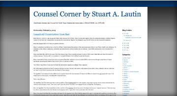 Counsel Corner Blog